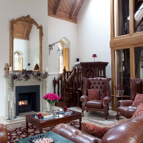 Cosy Sitting Room Glamorous Converted Church