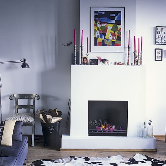 Fireplace Space Saving Amsterdam Apartment Tour