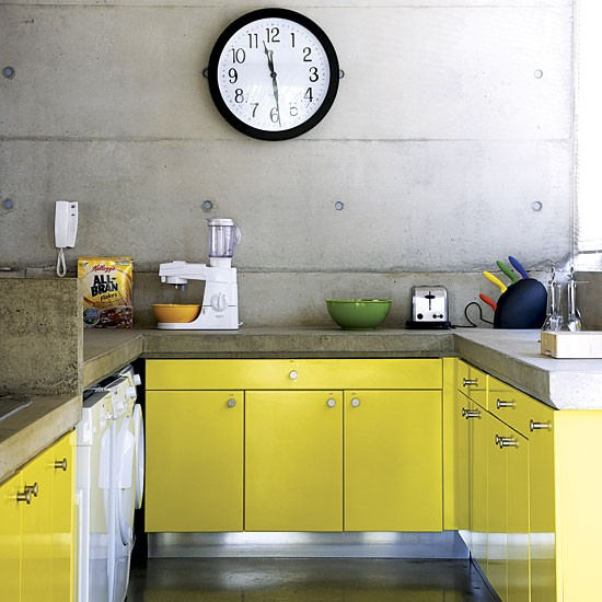 Kitchen uber modernist south african house tour for South african kitchen cabinets