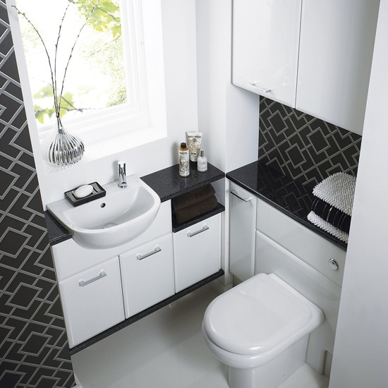 Pacific white suite from mereway bathrooms cloakroom suites 10 of the best - Small bathroom suites for small spaces collection ...