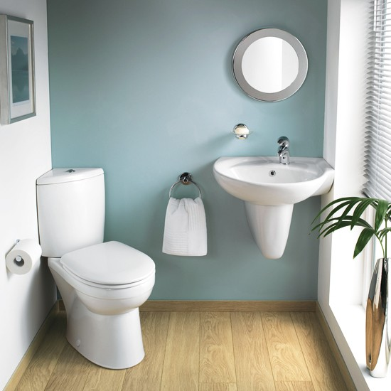 Galerie optimise suite from twyford bathrooms cloakroom for Bathroom ideas uk pinterest