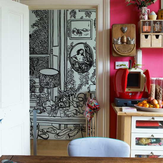 Kitchen corner | India Knight's vibrant Victorian home