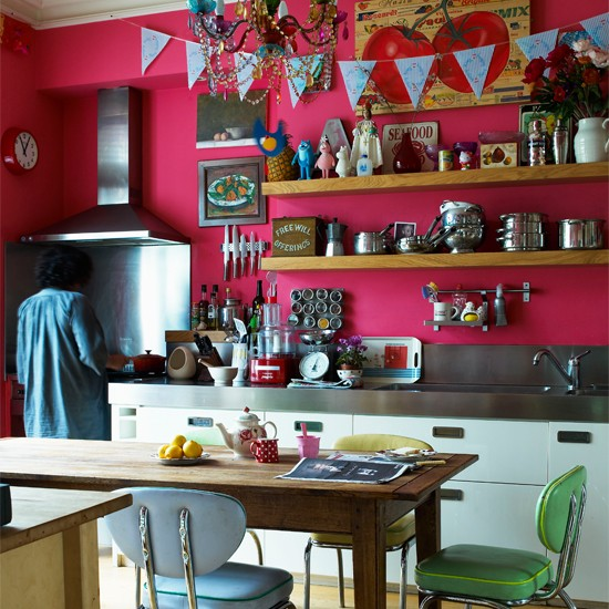 Kitchen | India Knight's vibrant Victorian home