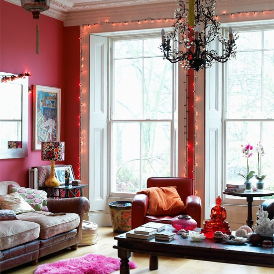 Living Room India Knight 39 S Vibrant Victorian Home
