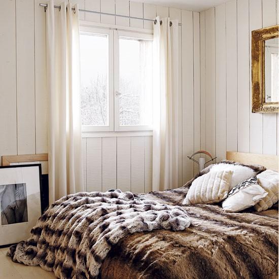 Bedroom Romantic Alpine Chalet House Tour