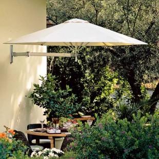 9' Wall Mount Rotating Arm Umbrella - Patio Umbrellas | Outdoor