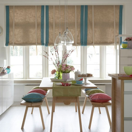 Child-friendly Fabric For The Kitchen