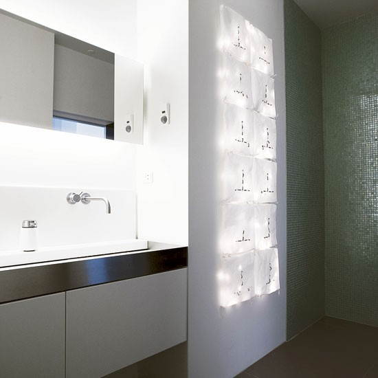 Cool Guest Bathroom Take A Tour Around A Cool Danish Loft Apartment