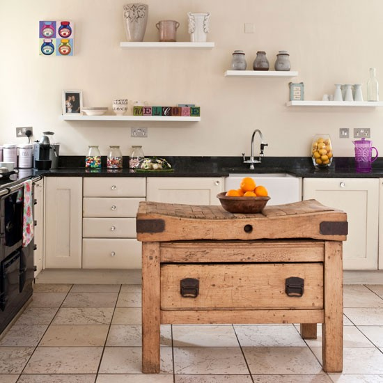 Rustic country kitchen | Kitchen idea | Butcher's block | Image | Housetohome