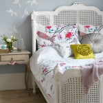 Summer floral bedroom | Bedroom idea | Cushion | Image | Housetohome
