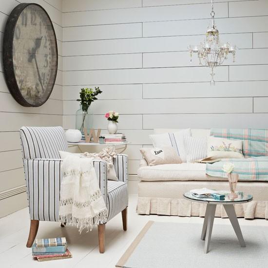 Nautical living room | Living room idea | Clock | Image | Housetohome