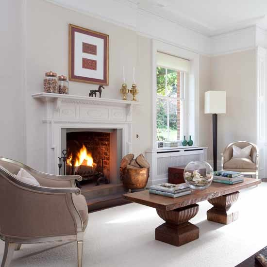 Classic living room fireplace | Formal living rooms - 10 of the best | Living room ideas | PHOTO GALLERY | Housetohome.co.uk