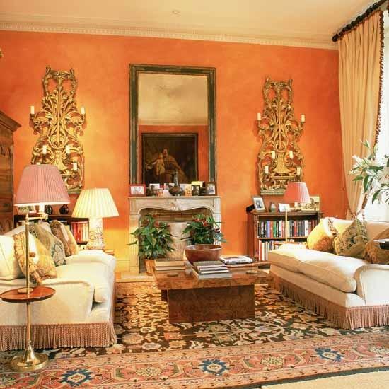 Orange Living Room Design 26 Wonderful Living Room Design Ideas Pictures To P
