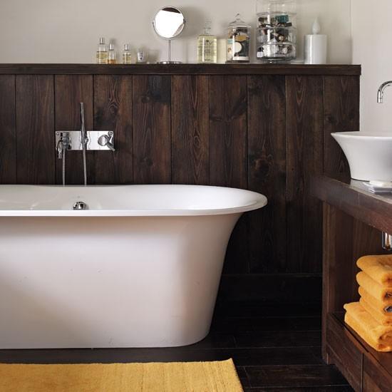 Bathroom step inside a converted tudor farmhouse for Tudor bathroom ideas