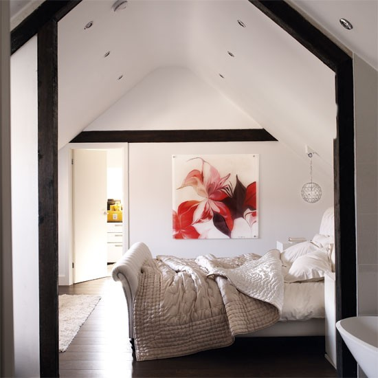 Bedroom | Converted Tudor farmhouse house tour | modern decorating ideas | house tour | PHOTO GALLERY | Livingetc | Housetohome