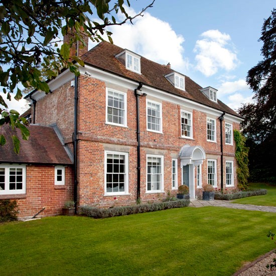 Step inside this georgian vicarage in hampshire for Beautiful house tour
