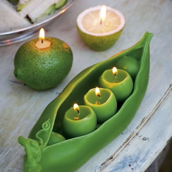 Peas and lime candle from Sarah Raven | Dining room buys - 6 of the best | Dining room shopping ideas | PHOTO GALLERY | Housetohome.co.uk