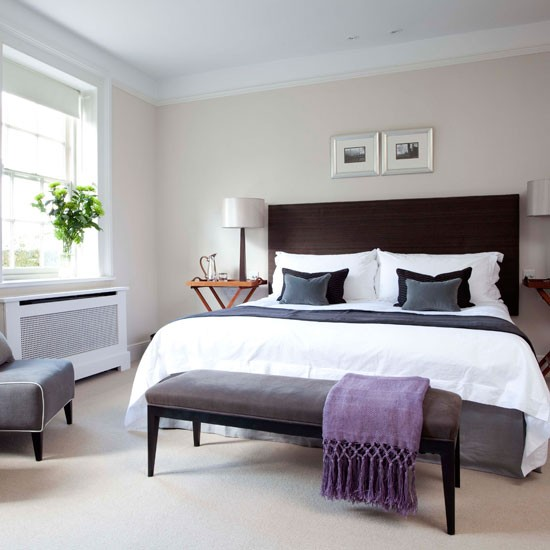 Sophisticated master bedroom | Bedroom idea | Bed | Image | Housetohome