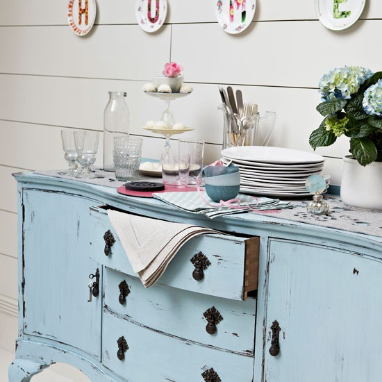 Shabby chic sideboard | Dining room sideboard | Dining room design | Image | Housetohome