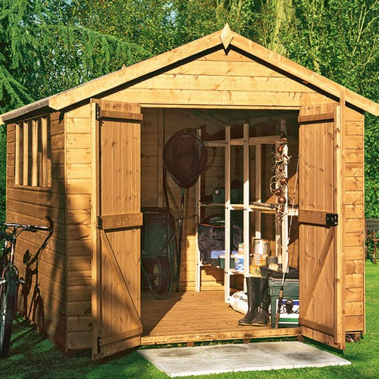 Apex Shiplap Workshop Shed from Tesco | Buyer's guide to sheds and summerhouses | Garden ideas | PHOTO GALLERY | Ideal Home