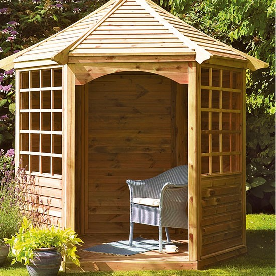 Arden gazebo from Focus | Buyer's guide to sheds and summerhouses | Garden ideas | PHOTO GALLERY | Ideal Home
