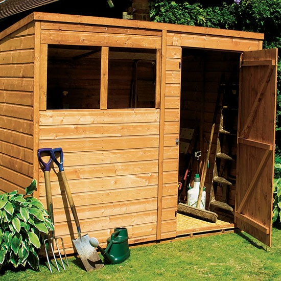 Pent wooden garden shed from argos how to buy sheds and for Garden shed ideas uk