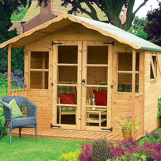 Wessex summerhouse from very how to buy sheds and for Very small garden sheds