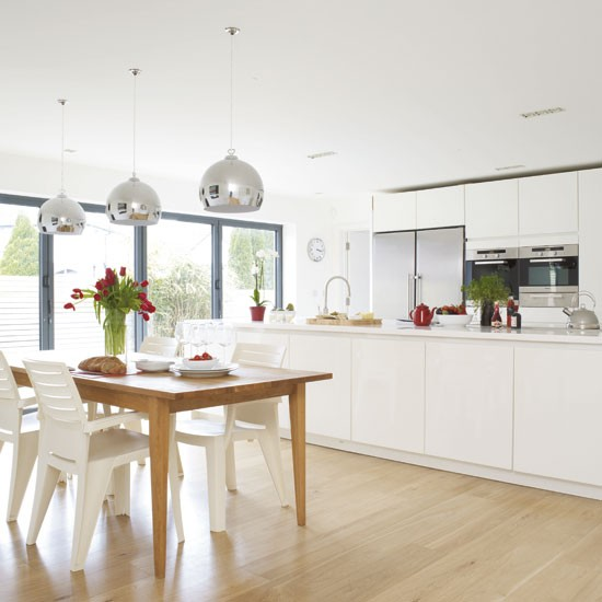 Kitchen Diner Wall Lights : Light-filled kitchen-diner Kitchen-diner idea housetohome.co.uk
