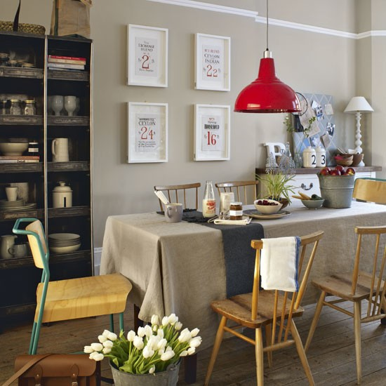 Nostalgic Dining Room Dining Room Idea Pendant Lamp Image