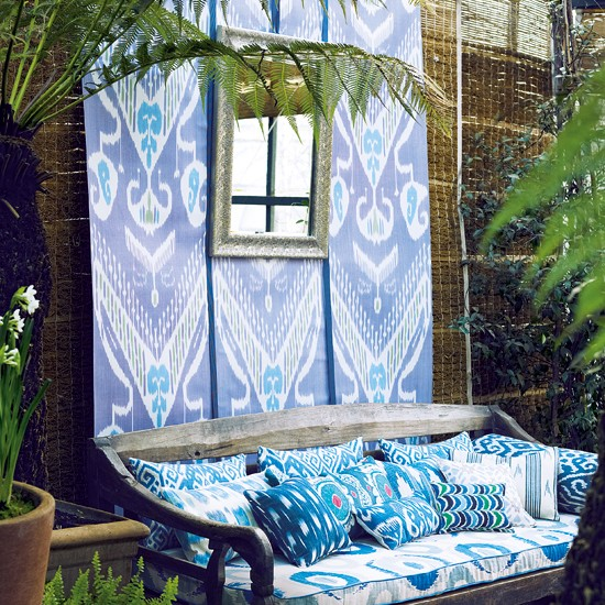 Exotic fabrics | The beauty of Ikats | Decorating Ideas | PHOTO GALLERY | Homes & Gardens | Housetohome