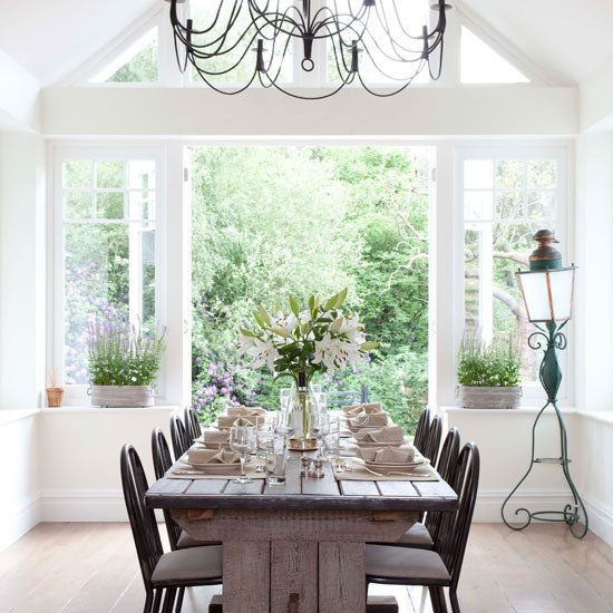 Conservatory diner | Elegant dining rooms - 10 of the best | Dining room inspiration | PHOTO GALLERY | Housetohome.co.uk