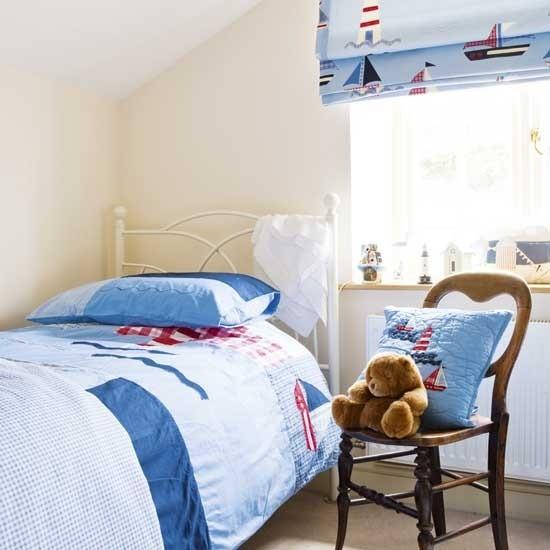 Seaside theme children 39 s room children 39 s bedroom ideas for Seaside room decor