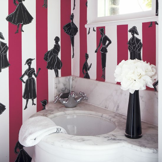 Girly Bathroom Ideas - Modern World Furnishin Designer Blog