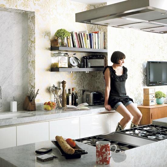 Kitchen Step Inside A Fashion Designer 39 S Georgian Home