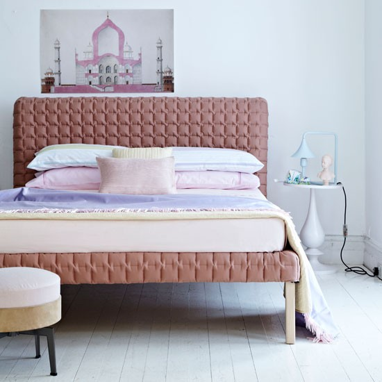 Pastel bedroom | Bedroom idea | Pastel decorating | Image | Housetohome