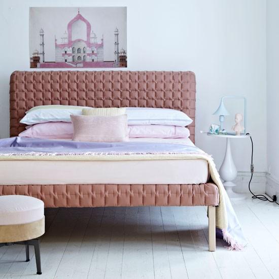 Pastel bedroom | Bedroom idea | Pastel decorating | Image | Housetohome