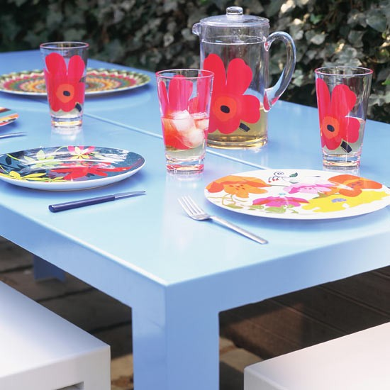Pick plastic furniture | Be inspired by outdoor rooms | Garden ideas | PHOTO GALLERY | Housetohome.co.uk