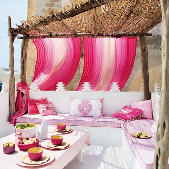 Relaxing garden design ideas for Outdoor seating area ideas