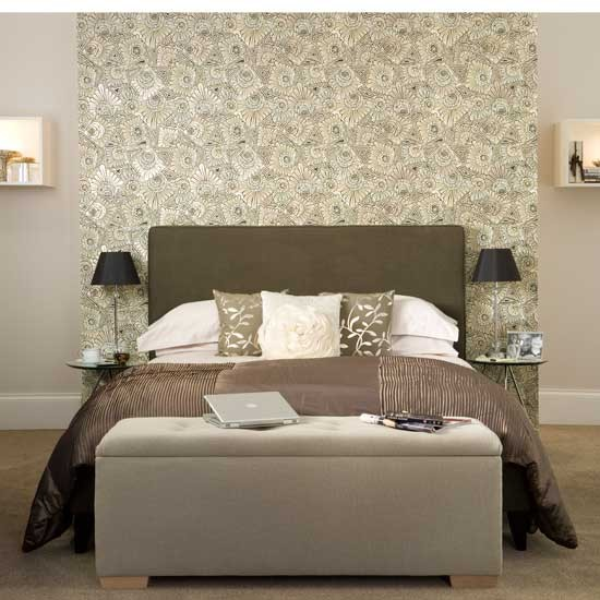 Hotel style bedrooms 10 of the best for Wallpaper room ideas
