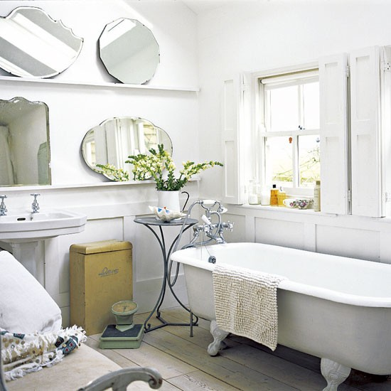 Bathroom | All-white extended cottage | Real Home | Livingetc house tour | PHOTO GALLERY | Housetohome