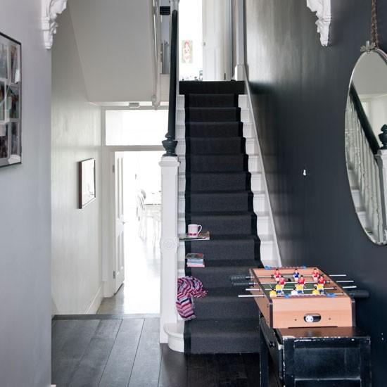Black And White Hallway Idea Housetohomecouk