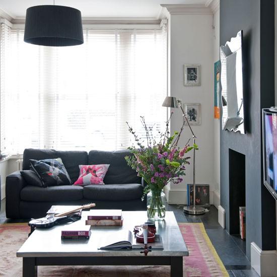 Black And White Living Room Living Room Idea