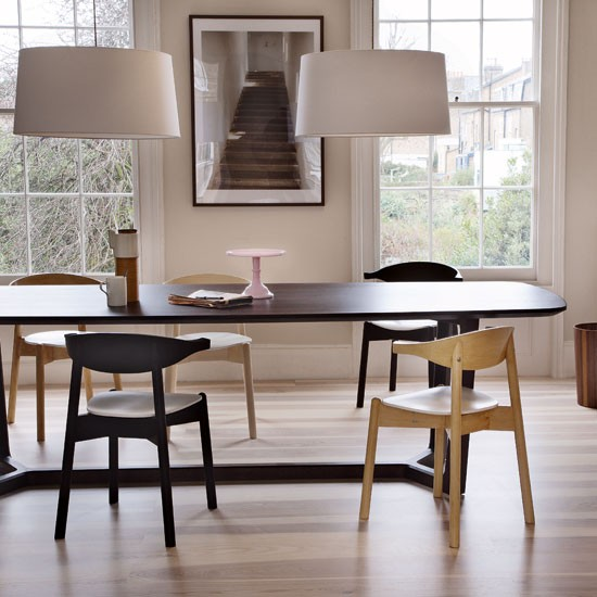 Wooden dining room | Dining room design idea | Wooden dining table | Image | Housetohome