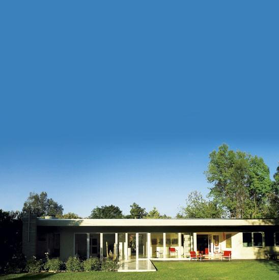 Rachel griffiths 39 mid century modern house tour - Racholas exterior ...