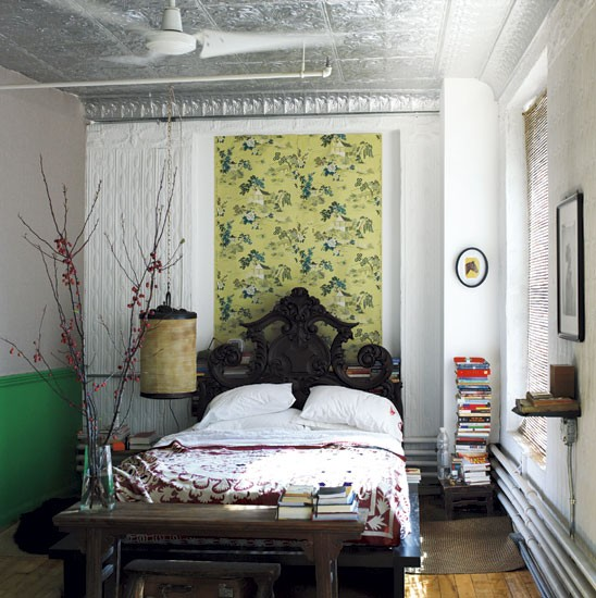 Bedroom | Stylist Sibella Court's bohemia-chic apartment tour