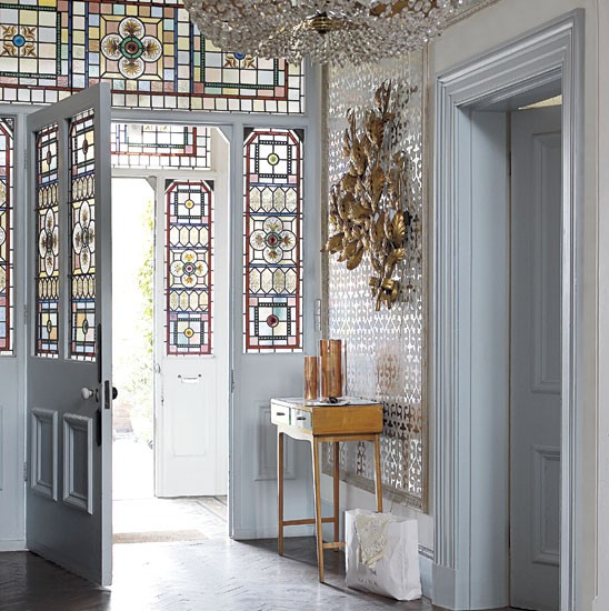 Lovely Contemporary Victorian Hallway: Quirky And Eclectic Mansion House Tour