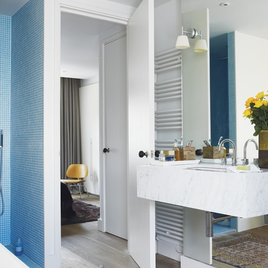 Bathroom take a tour around an elegant modern home for Living etc bathroom ideas