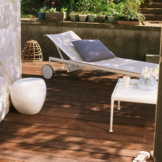 Go for dark decking | Modern garden decking design ideas ...