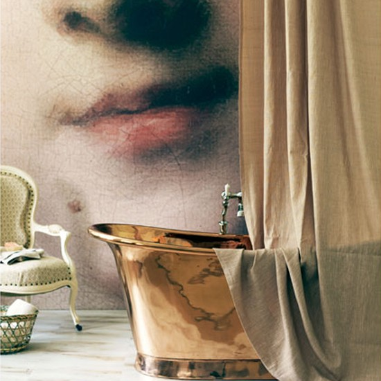 Enlarge a classic portrait | Design ideas: blush and beyond | decorating with nudes | decorating with colour | PHOTO GALLERY | Homes & Gardens | Housetohome