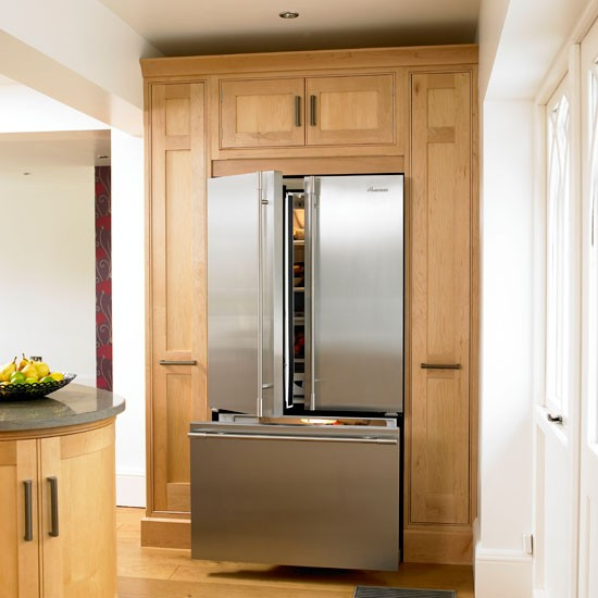 Fridge freezer | Farmhouse kitchen tour | Traditional kitchen design | PHOTO GALLERY | Housetohome